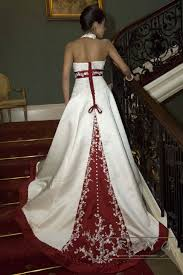 red wedding dresses traditional mix royal satin wedding dress