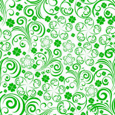 happy green color happy st patrick s day background with truck in green color on blue