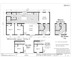 moble home floor plans champion mobile home floor plans rb 518 a fp large house plan
