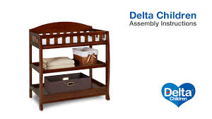 Delta Bennington Changing Table Delta Children Elite Changing Table Assembly