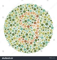 color test ishihara color testcolor blind test stock vector 716518657