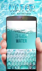 go keyboard theme apk go keyboard theme water android apps on play