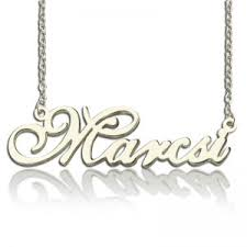 Personalized Photo Necklace Custom Nameplate Necklace Cheap