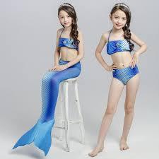 shiny swimsuit wholesale summer children shiny swimwear mermaid swimsuit