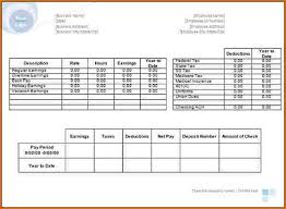 Paystub Template Excel Pay Stub Template Adp Pay Stub Template Free Pay Stub Templates