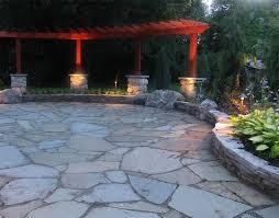 Slate Patio Designs Photo Of Flagstone Patio Ideas Backyard Decorating Inspiration