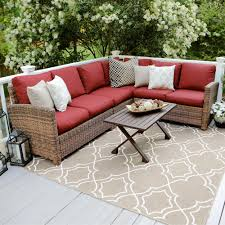 Curved Modular Outdoor Seating by Rst Brands Patio Conversation Sets Outdoor Lounge Furniture
