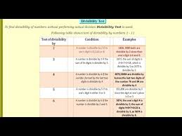 class 6 vi maths hcf and lcm divisibility rules part 3 youtube
