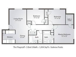 floor plans 3 bedroom 2 bath 3 bedroom apartment floor plans pricing sedona peaks avondale az