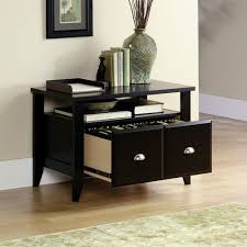 Espresso Lateral File Cabinet Stylish Sauder Lateral File Cabinet Engineered Wood Construction