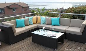 outdoor patio furniture sectional furniture decoration ideas