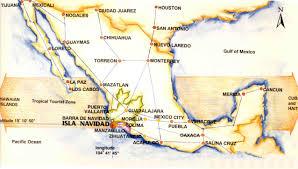 Manzanillo Mexico Map by National Map Jpg