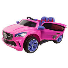 pink cars mercedes benz cla style ride on car kids electric cars 12v