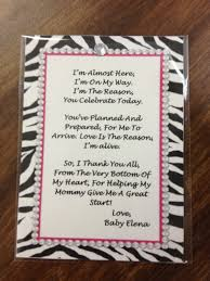 baby shower thank you poems from unborn baby poem babies and