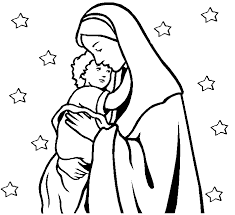 perfect mary mother of jesus coloring pages coloring page and