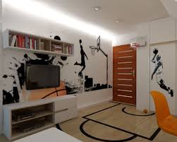 bedroom impressing modern wall shelves for kids rooms kids room modern basketball bedrooms with long white storage