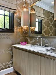 Unique Powder Room Vanities Ideas Unique Pendant Lighting By Vaxcel Lighting And Cozy Daltile