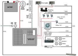 travel trailer battery wiring diagram dolgular com