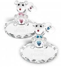 engraved teddy bears new baby with free engraving personalized
