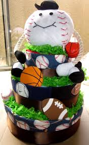 sugar free delights sports baby shower cake