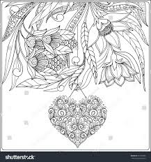 happy valentine day card decorative love stock vector 357302582
