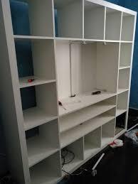Libreria Cubi Ikea by Usato Mobile Ikea Expedit Ora Kallax Porta Tv In 21013 Gallarate