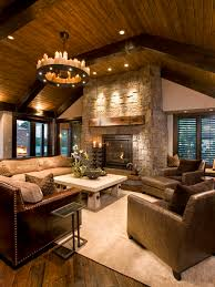 Leather Family Room Furniture Houzz - Family room leather furniture