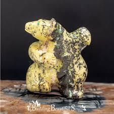 zuni spirit animal dancing bear totem by eddington