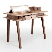 Oak Vanity Table With Drawers Contemporary Dressing Table Oak Solid Wood Lei By By André