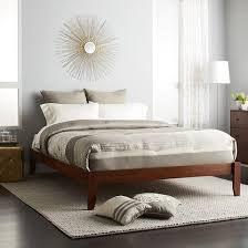 gilbraltor solid bamboo wood platform bed frame sit n sleep target