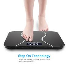 Bathroom Scale Battery New 396lb 180kg Electronic Lcd Digital Bathroom Body Weight Scale