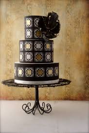 65 best black and gold cakes images on pinterest wedding art