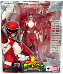 red ranger mighty morphin power rangers action figure