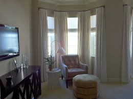 Curtains On Bay Window Gorgeous Contemporary Window Curtains And Contemporary Bay Window