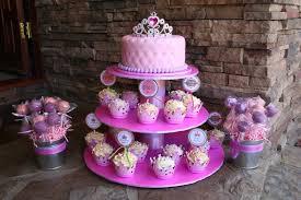 princess cakes pink princess cake with cupcakes