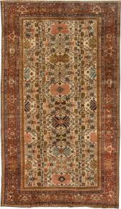 Neutral Persian Rug Sultanabad Rugs Allover Rugs By Dlb New York