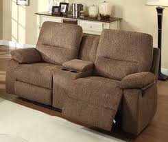 Double Chaise Lounge Sofa by Double Recliner Sofa With Console Best Home Furniture Decoration