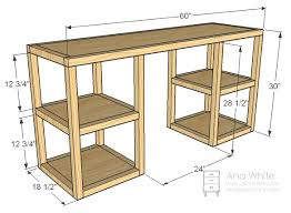 Diy Mdf Desk White Parson Tower Desk Diy Projects