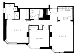 Canterbury Floor Plan by Apartment Floorplans Riverpoint Senior Living