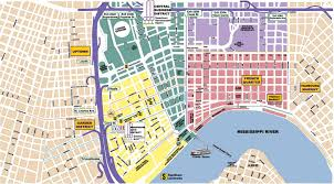 Louisiana Area Code Map by New Orleans Area Maps On The Town Concierge New Orleans Garden