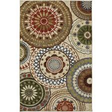 Area Rugs With Circles Mohawk Home Motion Printed Area Rug Multicolor Walmart Com