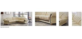 Versace Sofa Versace Classic Sectional Sofa In Ivory Italian Leather