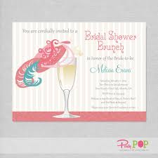 chagne brunch invitations fancy hat bridal shower invitations bridal shower brunch