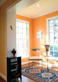 orange livingroom color guide how to work with orange