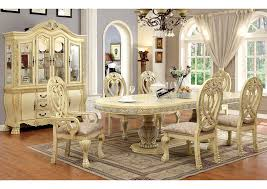 Dining Room Arm Chairs Sweet Dreamzzz Bedding U0026 Furniture Wyndmere White Dining Table W 4