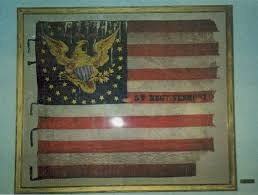 Cavalry Flag Representation Of Regimental Flags For Memorial Day American