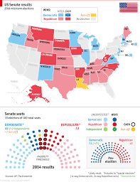 Map Of Election Results by The Republicans Win The Senate