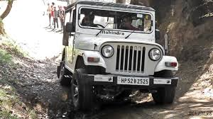 thar price mahindra thar di off roading youtube