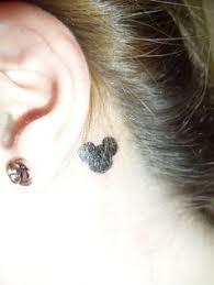 hidden mickey tattoo disney ink pinterest hidden mickey