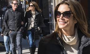 Randy West Porn Actor - cindy crawford holds rande gerber s arm on stroll in nyc daily